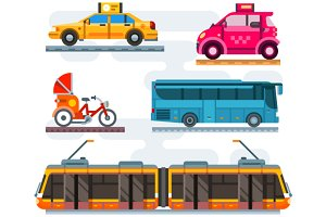 City transport set