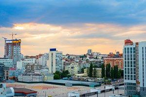 Kiev city center view, Ukraine