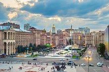 Maidan Nezalezhnosti Square, Kiev