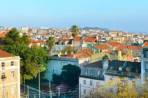 Lisbon panorama. Portugal