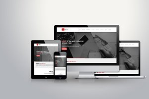 HTML 5 Landing Page