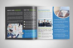 Bi fold Square Brochure