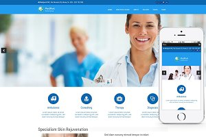 MedPark - Medical WordPress Theme