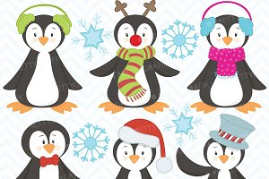 penguin clipart commercial use