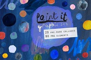 Paint it! graphic pack