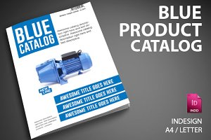 Blue Product Catalog