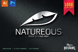 Natureous Logo Template