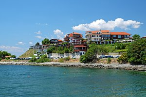 Coast in Nessebar, Bulgaria