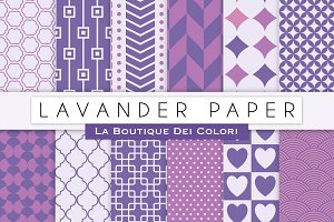 Lavander Digital Papers