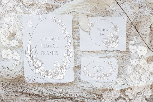 Spring Vibes ~ Floral Alphabet in Graphics - product preview 11