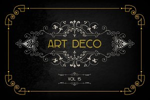 Art Deco Elements Vol. 15
