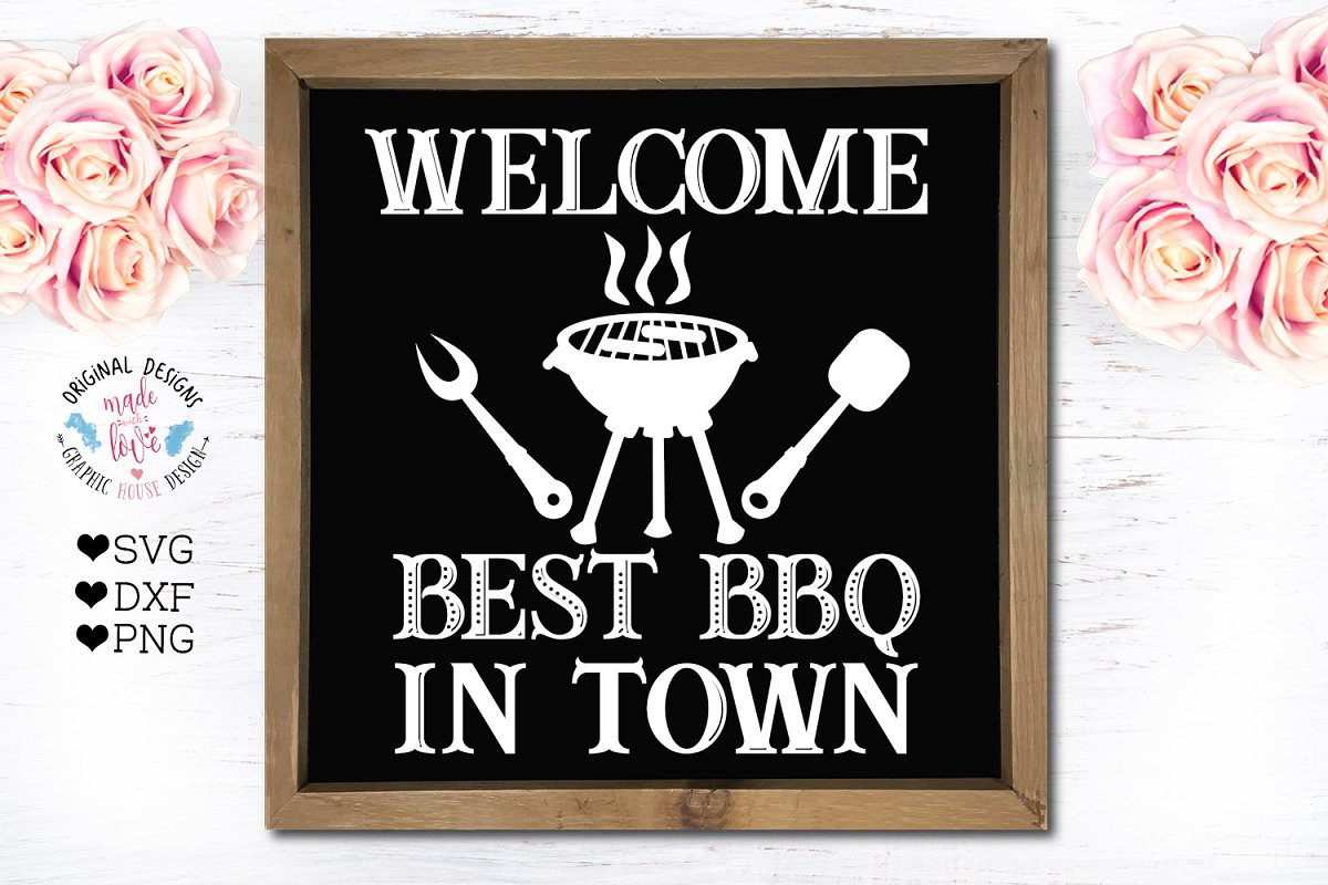 Best BBQ in Town - Barbeque Cut File