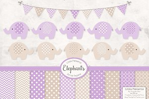 Lavender Elephant Graphics