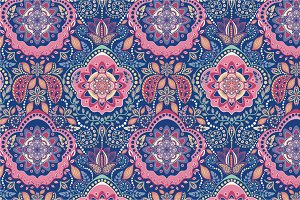 3 Vintage Seamless Patterns