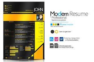 Modern CV & Resume