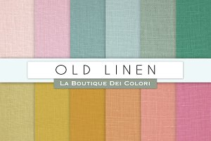 Old Linen Digital Papers