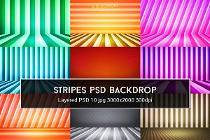 Stripes PSD Backdrop