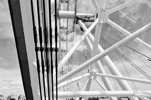 London Eye construction