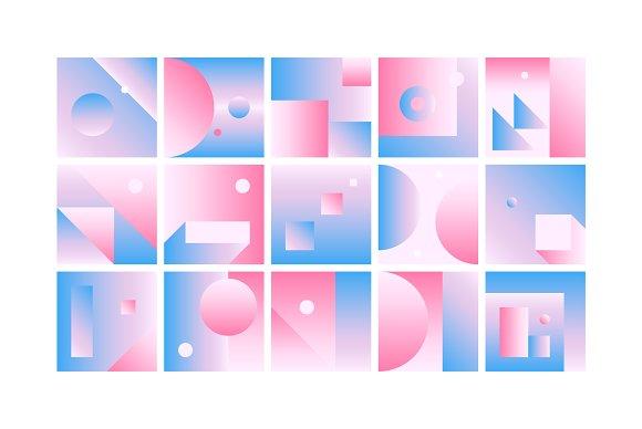 59 Geometric Gradient Backgrounds