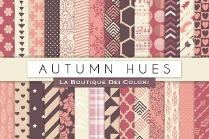 Aumtumn Hues Digital Papers