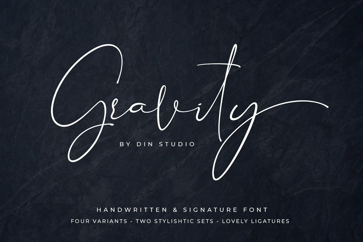 Gravity - Handwritten - 30% OFF