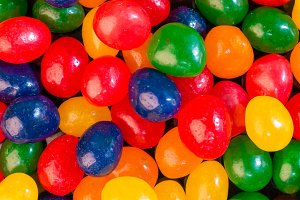 Colorful Jelly Bean background