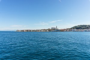 Picturesque old town Piran