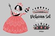 Victorian set.
