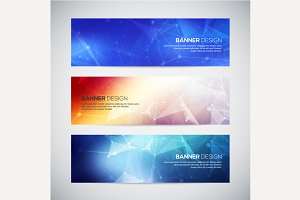 Vector banners set