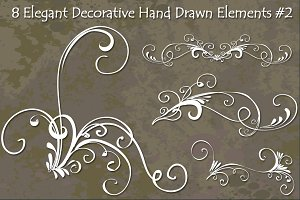 Decorative Hand Drawn Vector
