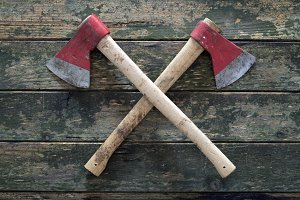 crossed axes