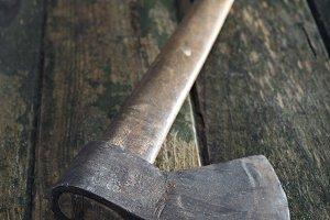 Old axe