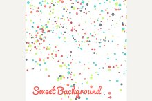 Abstract vector dot background