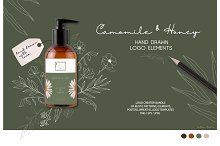 Camomile and Honey logo elements by  in Objects