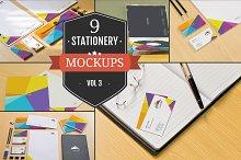 Branding Stationery Mockups Vol. 3