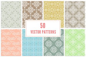 seamless linear vector patterns