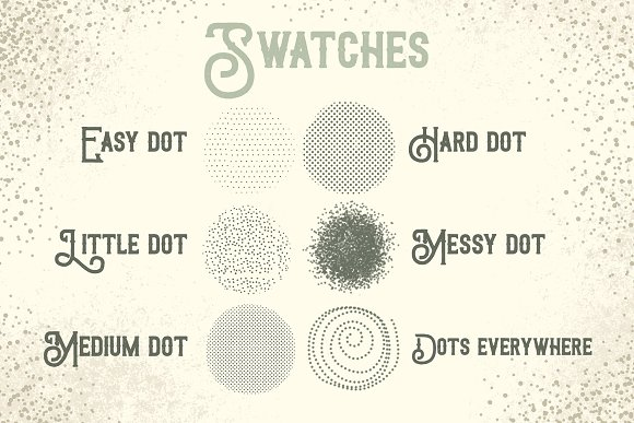 Procreate Brushes Dots everywhere in Photoshop Brushes - product preview 2