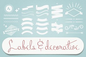 Labels & Decorative Vectors