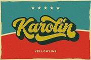 Karolin - Retro Font