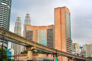 Kuala Lumpur downtown,Malaysia