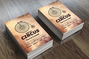 Circus - Invitation