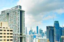 Modern architecture of Singapore