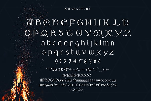 Best Alchemy - A Magical Typeface Vector