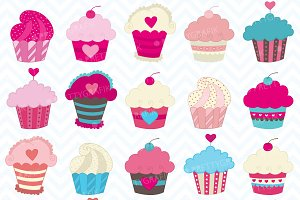 cupcake madness clipart commercial