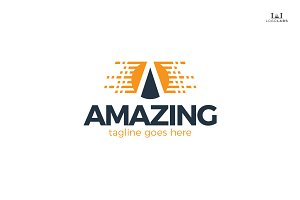 Amazing - Letter A Logo