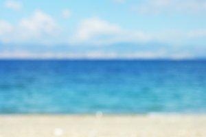 Blurred Sea.