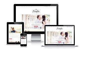 Responsive Blogger Template- Josefin