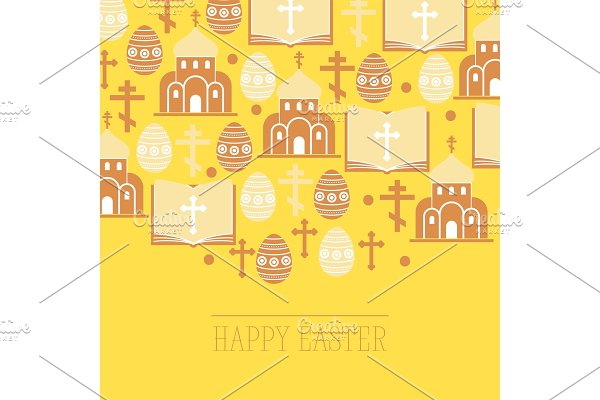 Religion vector pattern catholic