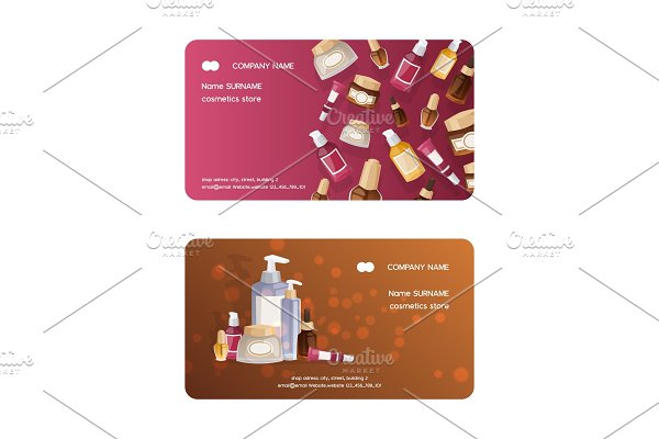 Cosmetic product vector business