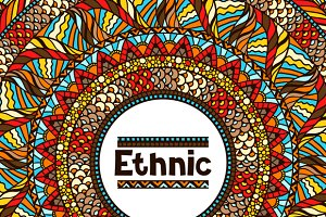 Ethnic backgrounds and patterns.